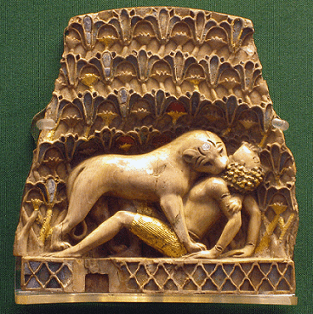 Example of Nimrud Ivory