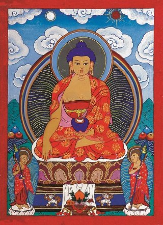 Painting of Buddha (