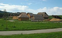 Reconstruction of an early medieval peasant village