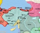 Map of Turkey at 1215CE