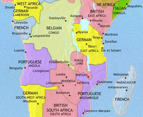 Map of Central Africa at 1648AD | TimeMaps