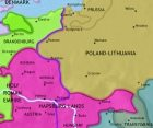 Map of East Central Europe at 1648CE
