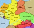 Map of Germany at 1960CE