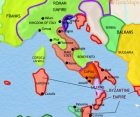Map of Italy at 979CE