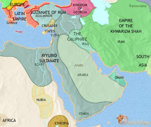 1900 Middle East Map.Middle East History 1914 Ce
