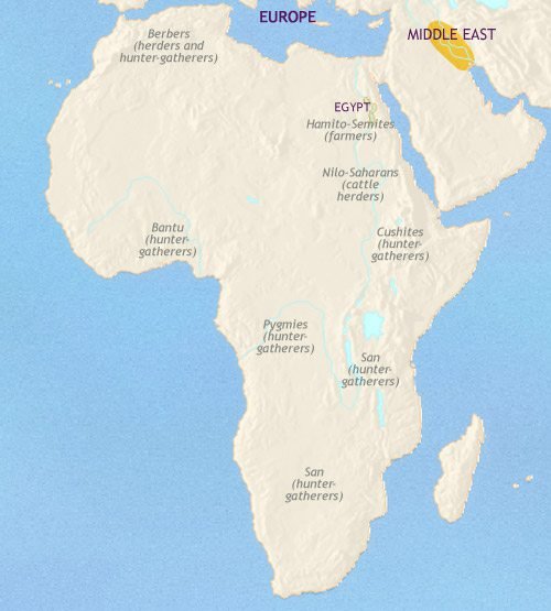 Map of africa at 3500bc timemaps map of africa at 3500bce sciox Images