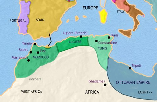 Map Of France N Italy.Map Of North Africa At 200bc Timemaps