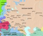 Map of Russia at 1837CE