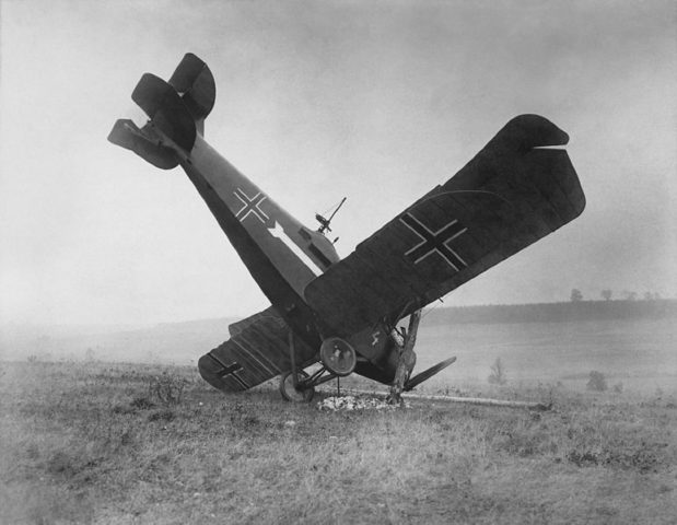 A-German-Hannover-CL III-Shot down