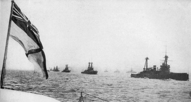 The british-grand-fleet-sailing