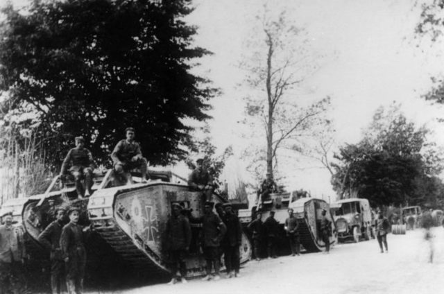 German-Tank-Corps-In-France